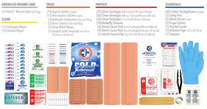 FIRST-AID-250PCS-2-COMPONENTS